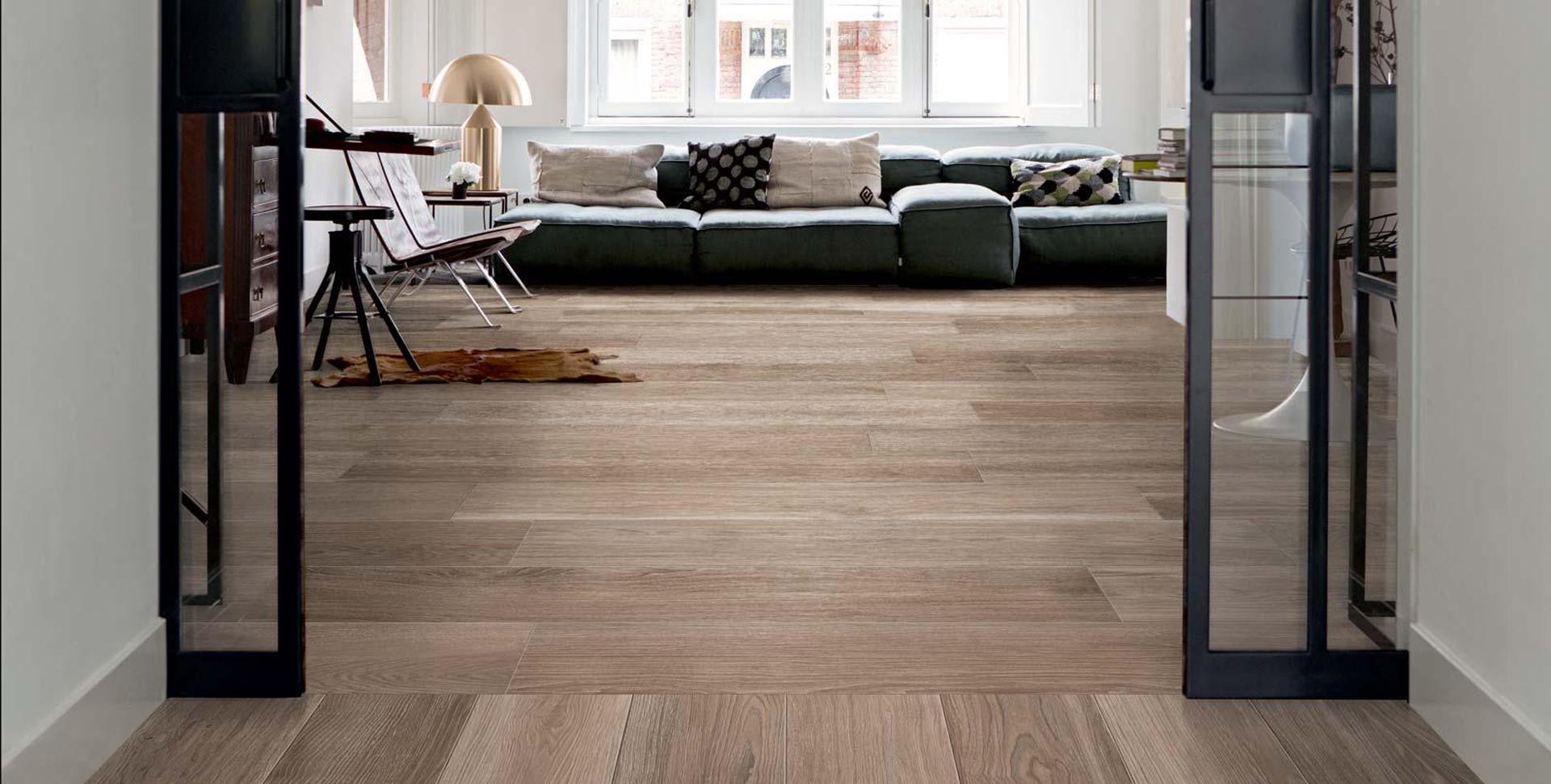 Pavimento in Gres effetto legno - Miotto Casa Showroom
