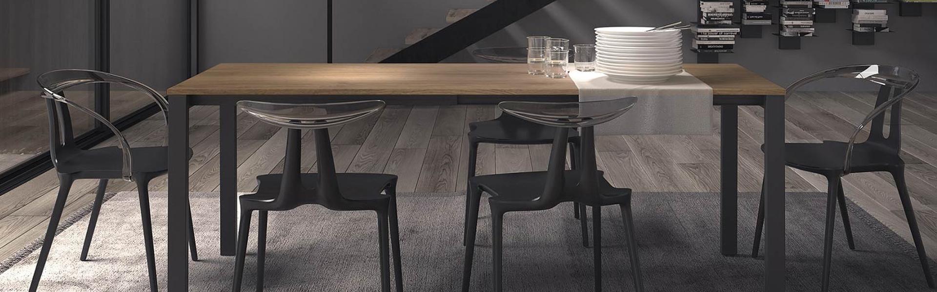 Tavoli e sedie per la sala da pranzo - Miotto Casa Showroom